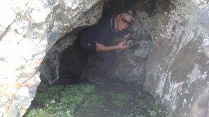 Alex, last survivor out of the cave